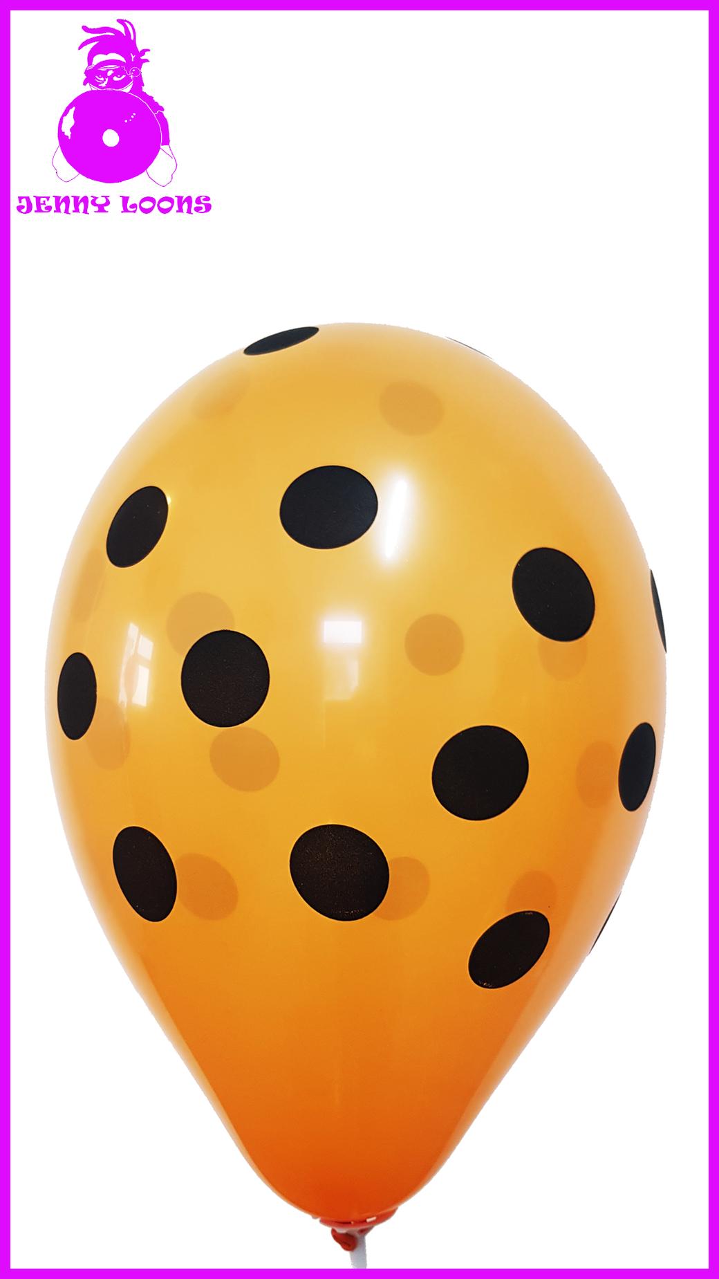 CATTEX Polka Dots Halloween Luftballons Balloons Punkte