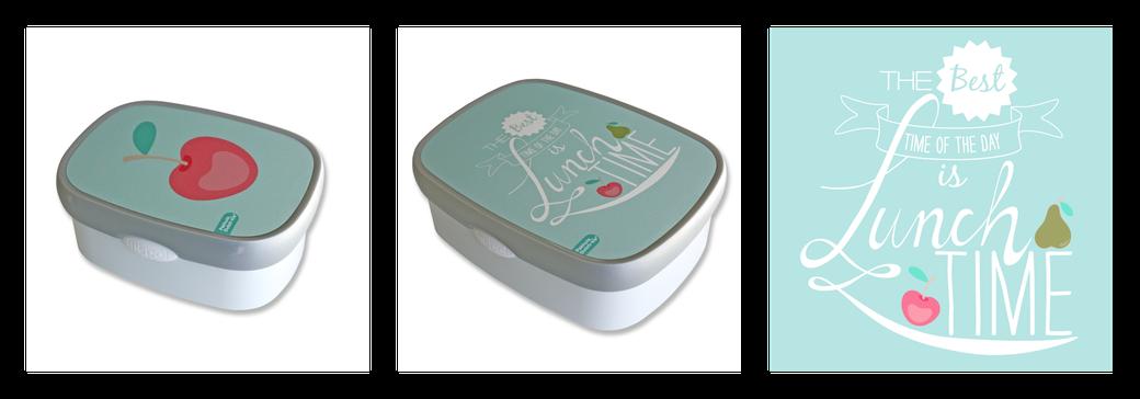 lunchboxen van Mepal met een design van Ontwerpbureau Art-i-shock