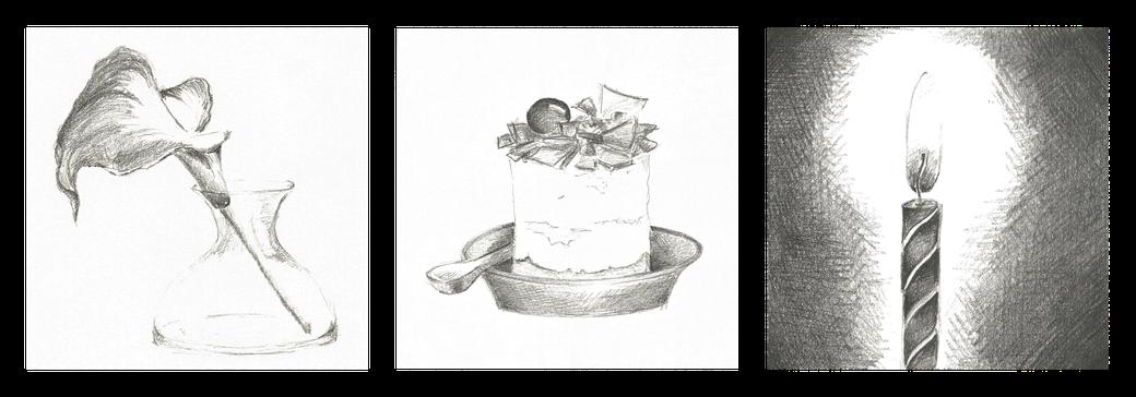 illustraties voor wenskaarten