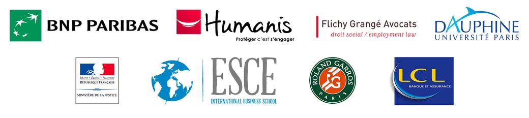 LCL, Flichy Grangé Avocats , Dauphine université Paris , humanis , roland garros ,