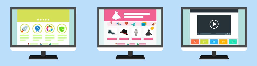 Image Tipos de páginas Web