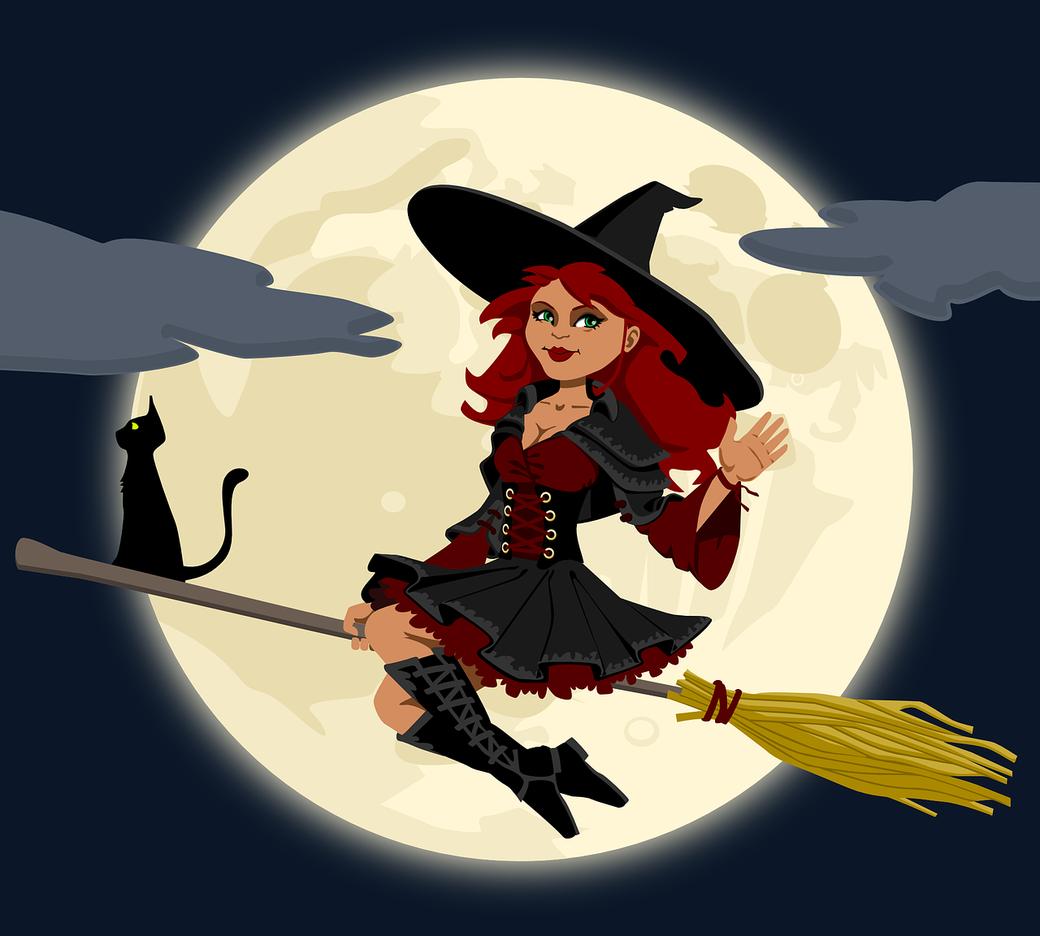 Zauberin Zauberinnen Magierin Zauberkünstlerin