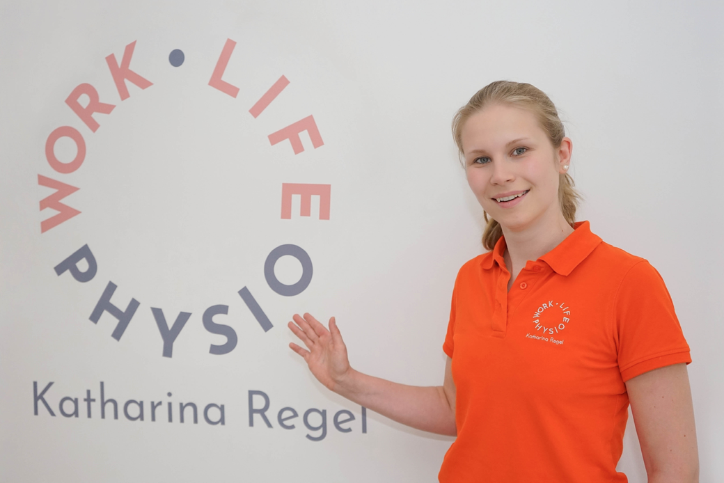 Physiotherapeutin Katharina Regel von Work Life Physio in Hamburg