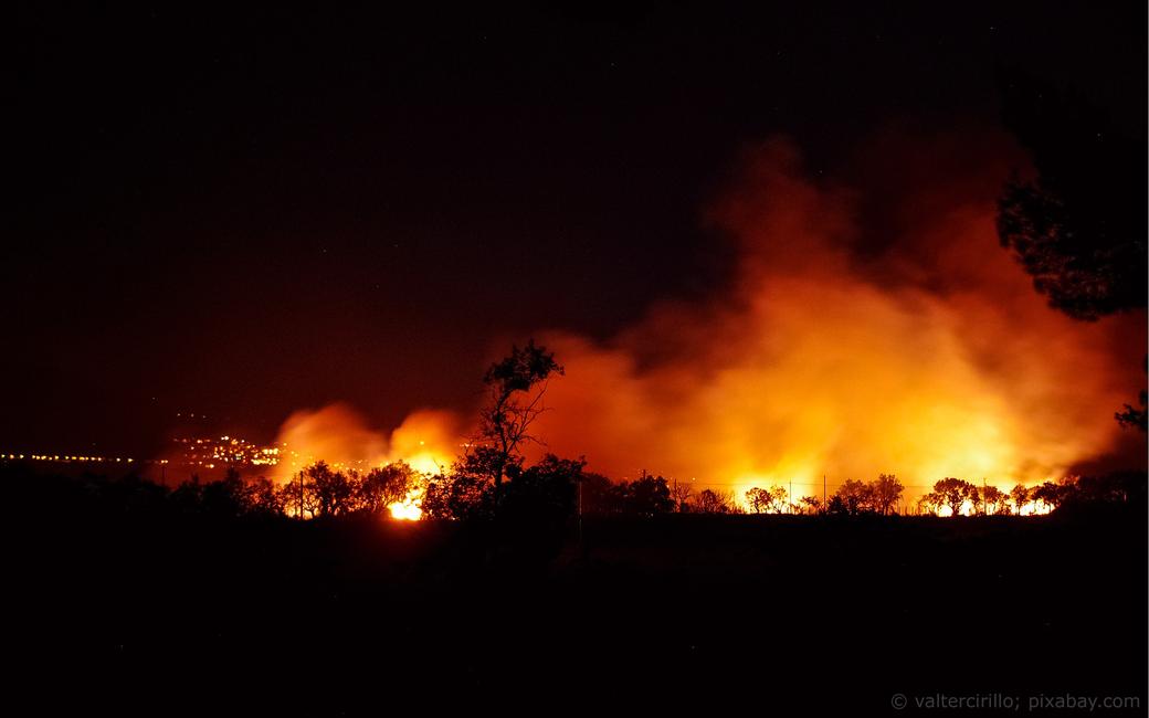 Südfrankreich Waldbrände