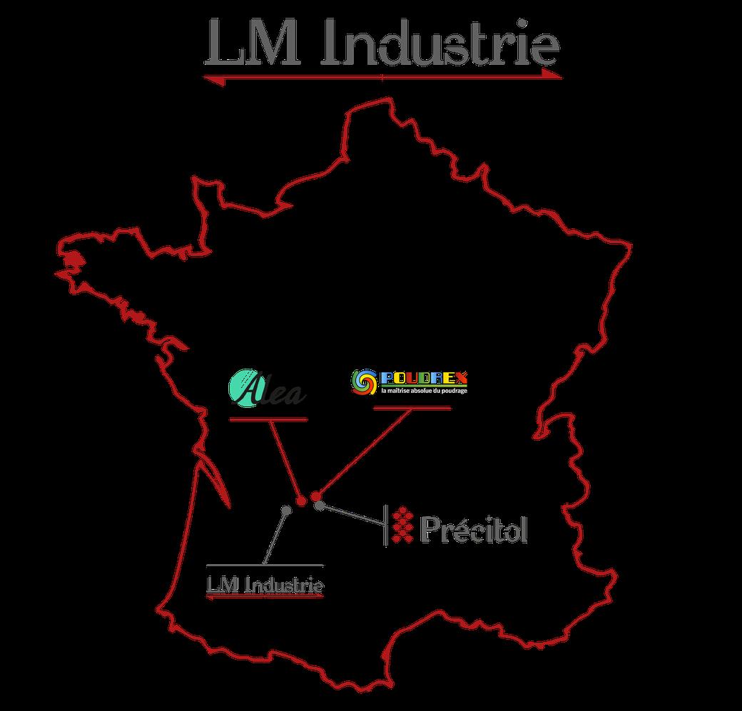 Le groupe LM Industrie, position géographique avantageuse