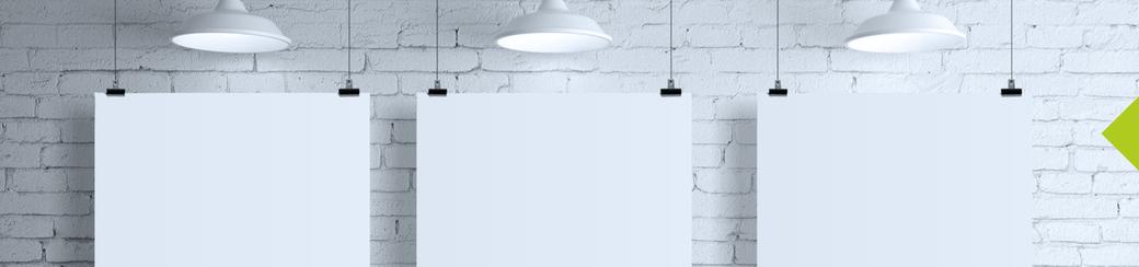 Plakate zum Beispiel oder Banner oder Flaggen oder Beschilderung - gestaltet von der Werbeagentur Sulingen