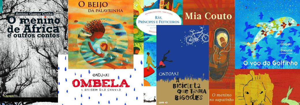 Portugiesische Bücher von Autoren aus Afrika - Angola - Mosambik