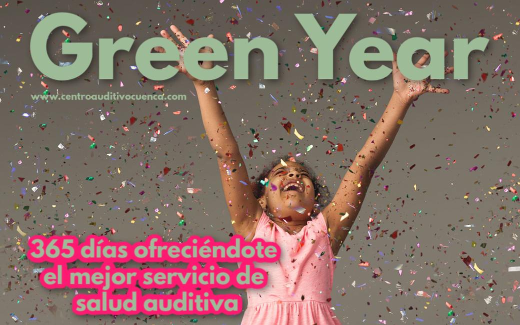 Green Year del Centro Auditivo Cuenca, 365 días ofreciéndote el mejor servicio de salud auditiva. Estamos en Valencia.