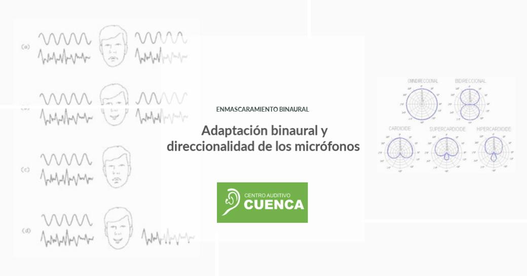 Adaptación binaural y direccionalidad de los micrófonos. Enmascaramiento binaural. Centro Auditivo Cuenca.