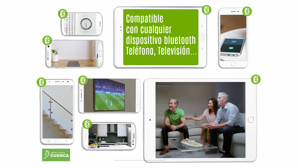 Phonak Audeo B-Direct se conecta directamente sin necesidad de ningún dispositivo intermedio. Centro Auditivo Cuenca.