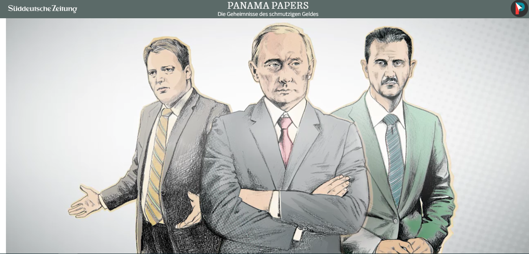 Panama Papers, Süddeutsche, Propaganda, gekaufte Journalisten, 2016, Datenleck, ICIJ, Putin, Offshore, Konten, Whistleblower, Mossack Fonseca, MossFon, Panama, Banken