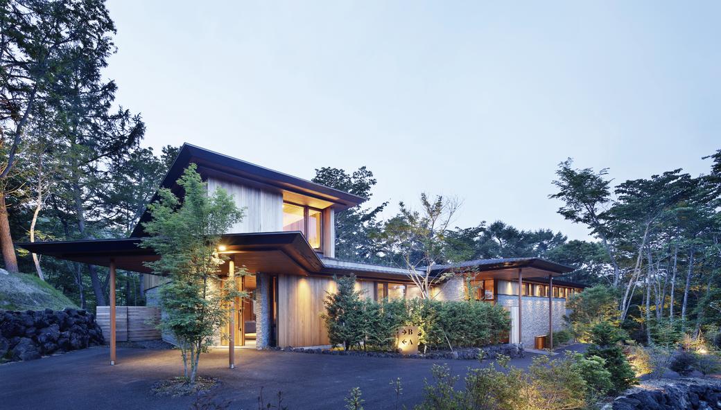 プルミエデュオ シェアハウス シェア別荘 旧軽井沢倶楽部内に建築