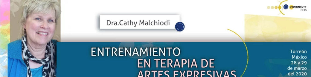 Cathy Malchiodi PhD in Torreon Mexico to teach two-day expressive arts therapy and trauma course March 2020