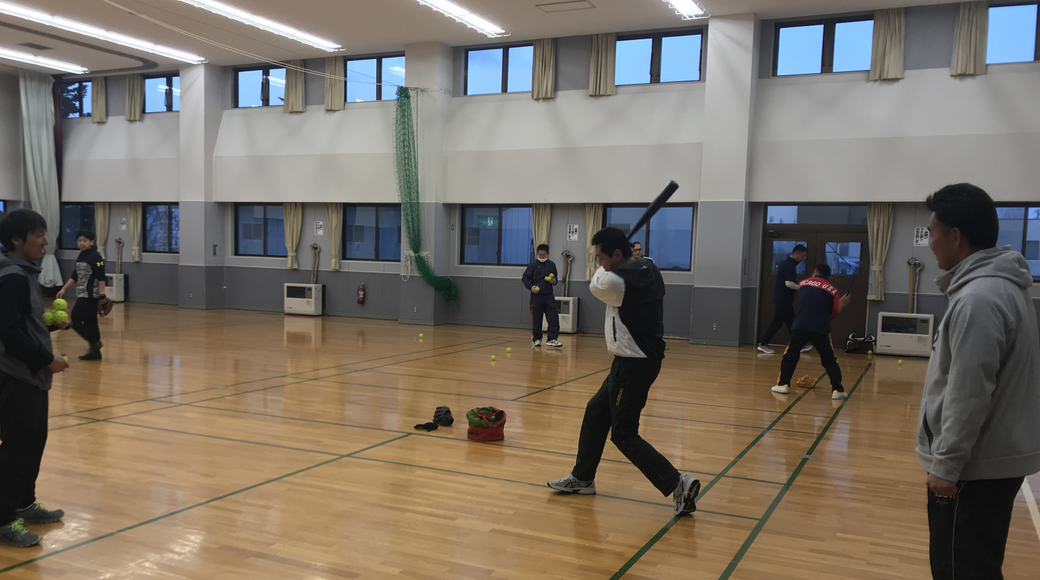 スタッフブログ「第6回 網走中央病院野球教室 指導者講習会②