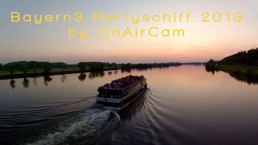 Bayern3-Partyschiff 2013 by onaircam