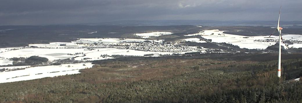 Leben mit der Energiewende TV - Rheinböllen im Schnee