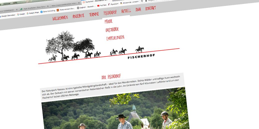 Fischerhof Wanderreiten Homepage RossFoto Dana Krimmling