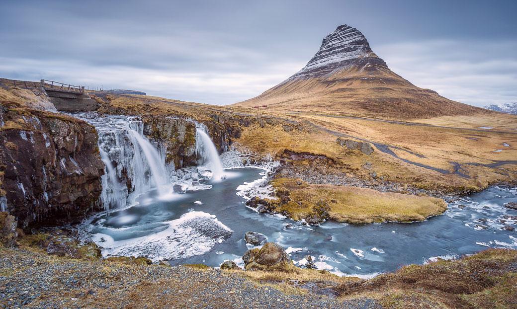 Kirkjufell - Snaefellsnes IJsland © Jurjen Veerman
