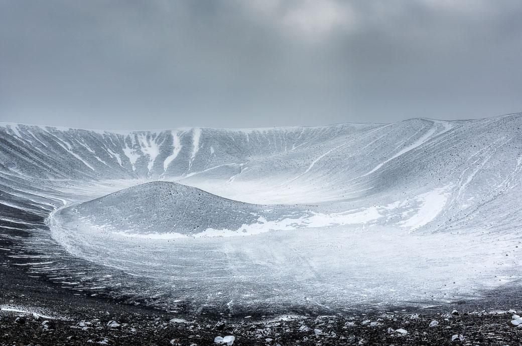 Hverfjall Myvatn - IJsland