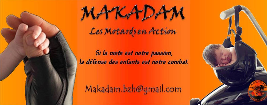 MAKADAM - Les Motards en Action