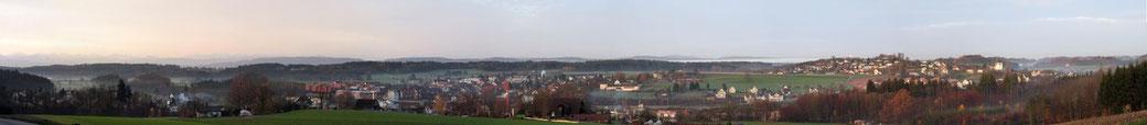 Panorama Illnau von Arthur Kammer