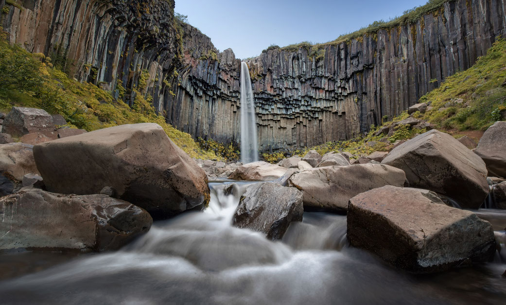 Best photography spots in Iceland: Svartifoss