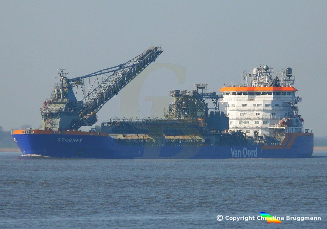 Das Fallrohrschiff (Flexible Fallpipe Vessel) STORNES