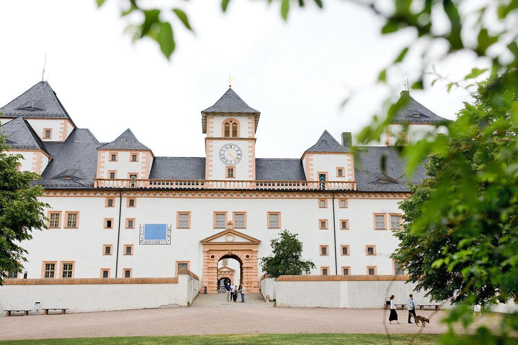Das Jagdschloss Augustusburg in Sachsen
