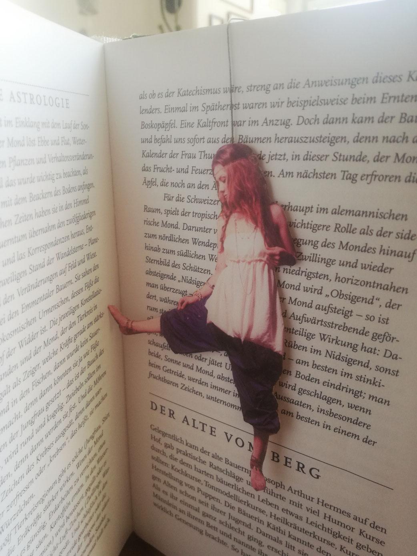 D.I.Y. Lesezeichen selbst machen, Foto-Lesezeichen mit Quaste, persönliches Geschenk