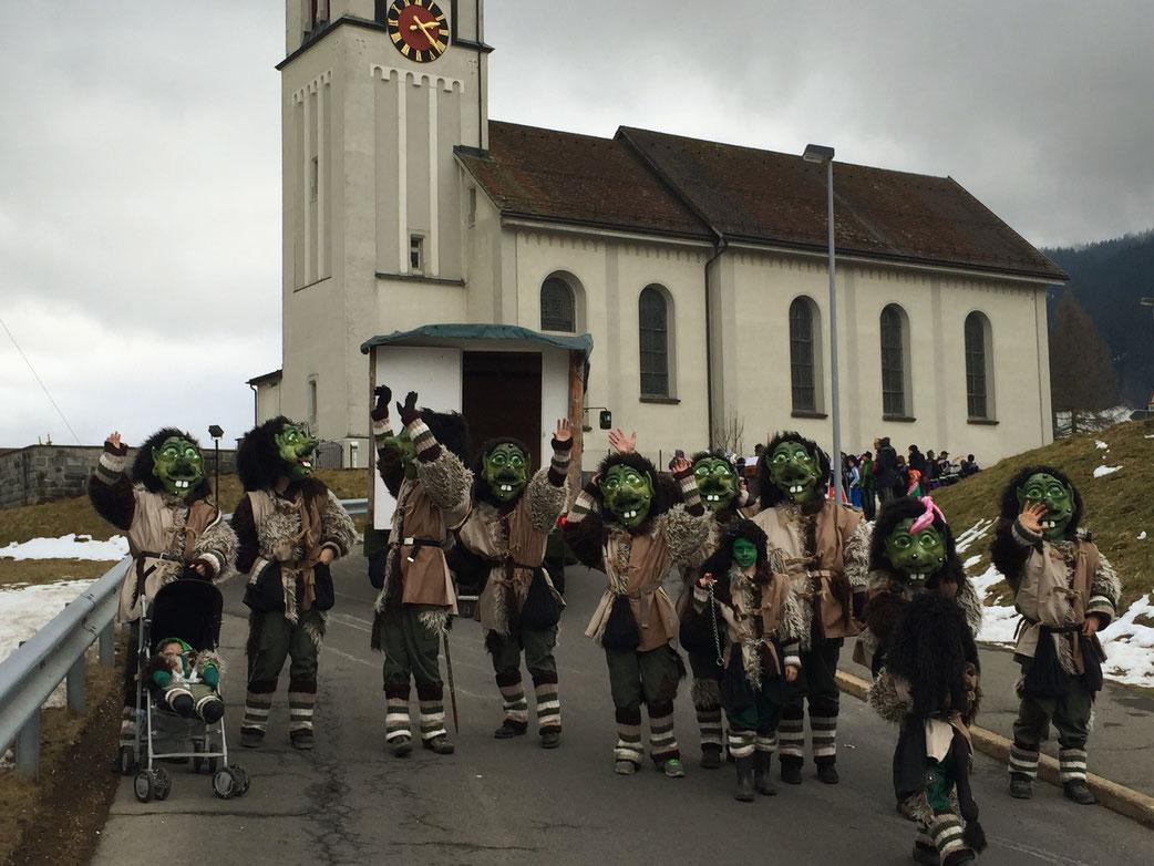Umzug Trachslau 2016