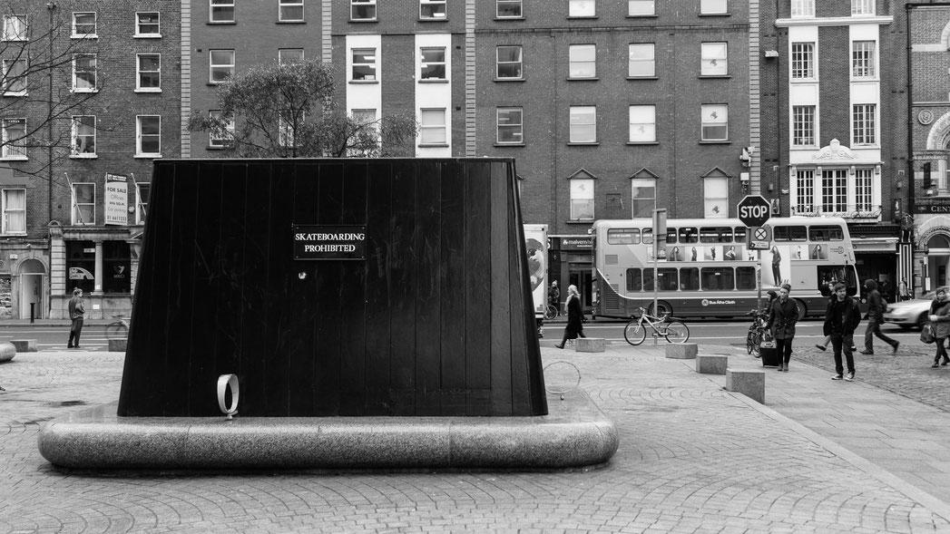 Dublin Skateboarding prohibited