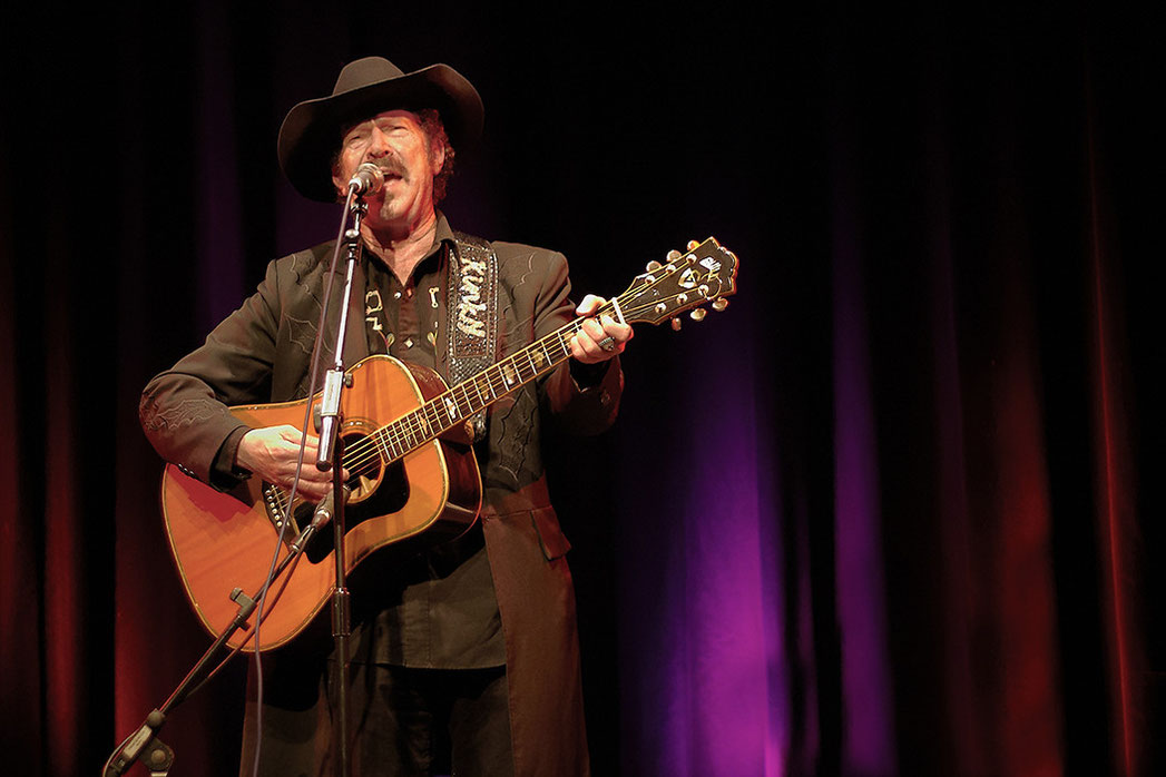 Kinky Friedman in Germany (Foto: Christian Düringer)