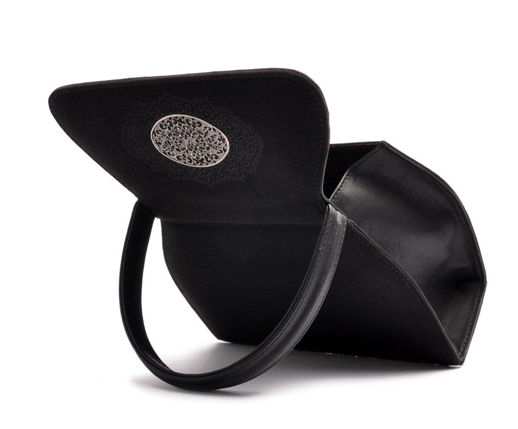 Trachtentasche EMMA schwarz OSTWALD Traditional Craft
