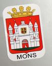 Stickers sticker autocollant voiture Mons
