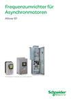Schneider Electric - Frequenzumrichter für Asynchronmotoren Altivar 61 - ZXKR61 - Mai 2014 © Schneider Electric GmbH 2020, Alle Rechte vorbehalten