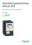 Schneider Electric - Altivar 312 - Variable speed drives for 3-phase motors from 0.18 to 15 kW - Catalogue May 2011 (V3.0) - DIA2ED2090404EN - ART. 960364 © Schneider Electric GmbH 2020, All rights reserved