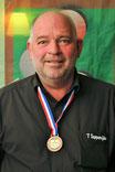 Frank de Graaf, gewestelijk kampioen driebanden 1e klas