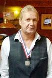 Berry Haans, districtkampioen Driebanden 3e klas