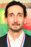 Robin van den Bosch, districtkampioen driebanden 1e klas