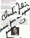Cliquez ici pour agrandir la dédicace de la pianiste Christie JULIEN