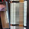 Marteaux du piano de concert Steinway  à l'atelier de Piano Concept