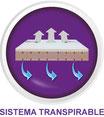 colchon con sistema transpirable 3d valladolid