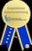 Auszeichnung Autovermietung Stein Ulm