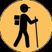 Met tientallen routes is er voor elk niveau aanbod van wandelroutes.