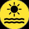 Met meer dan 320 dagen per jaar zon en zowel in zomer als winter heerlijke temperaturen een dagje strand zeker de moeite waard.