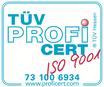 Zertifikat TÜV Hessen Zahnspangenliebe Praxis für Kieferorthopädie