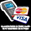 Aceptamos Tarjetas de credito y debito