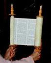 Tora-Rollen-Modell der Synagoge Hechingen, nach einem Foto von U. Hentsch, alle Rechte vorbehalten!