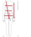Kleidermasse - mesures