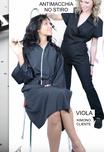 Kimono clienti VIOLA con profilo in raso no stiro antimacchia con logo ricamato o stampato senza minimi quantitativi